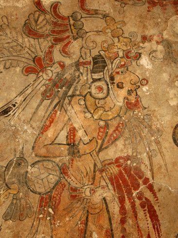 Arte Mural De Los Mayas