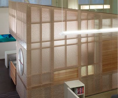 Amazing Translucent Panels Over Wood Studs   Google Search