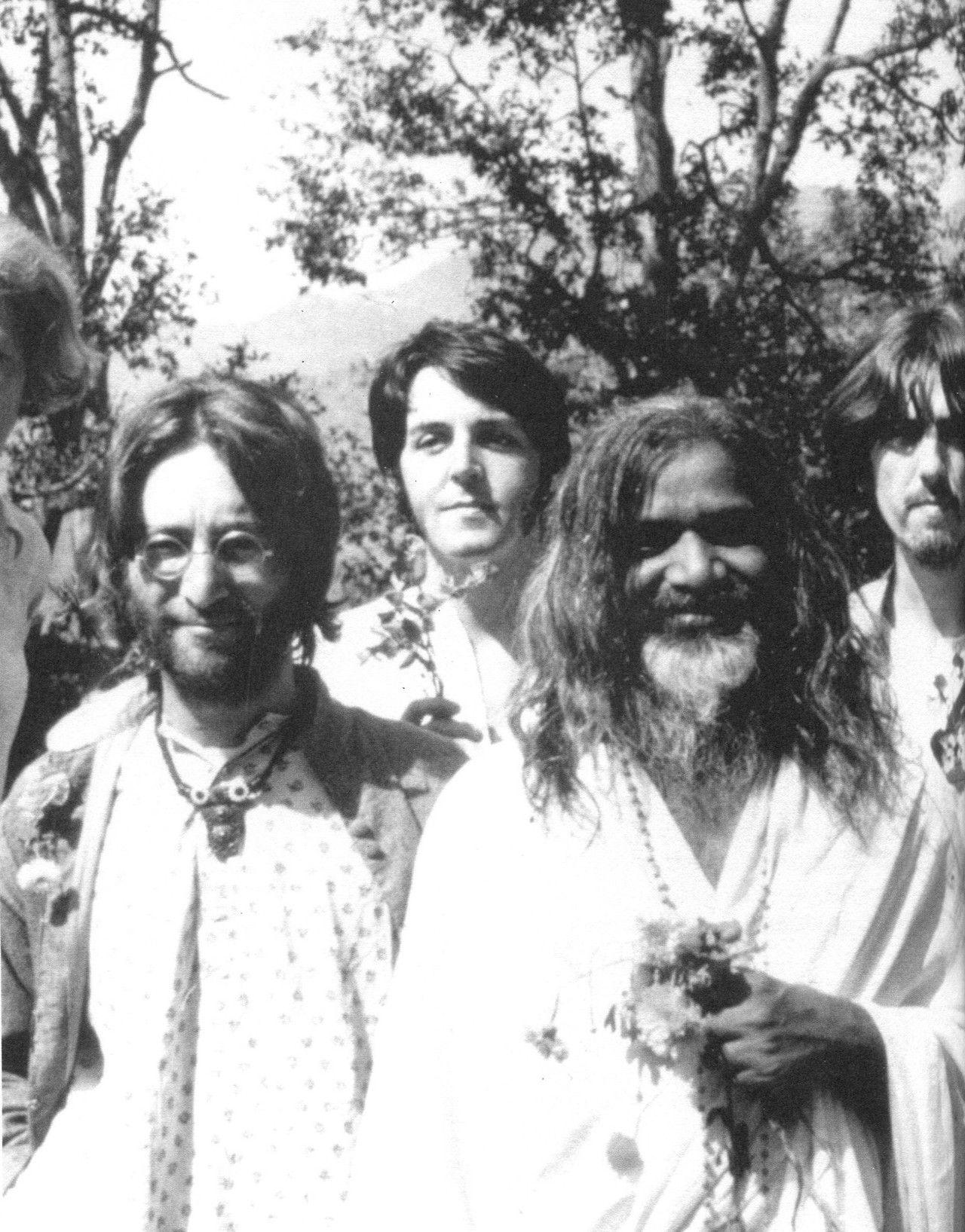 Pin By Lori Michael On Maharishi Mahesh Yogi The Beatles Lennon Maharishi Mahesh Yogi