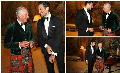 Prince of Wales rubs shoulders with supermodel @DGandyOfficial at Wool Conference dinner  http://thesun.uk/6015Bfa5x