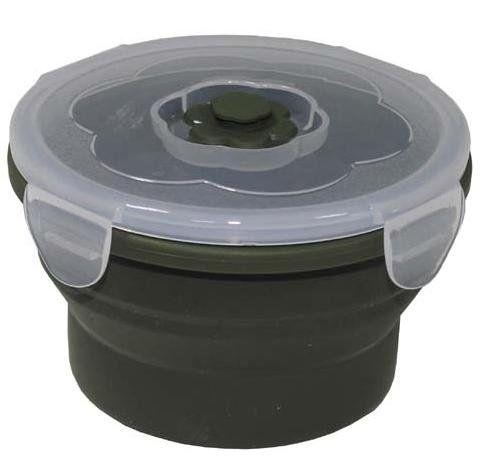MFH Lunchbox, faltbar, oliv, 540 ml / mehr Infos auf: www.Guntia-Militaria-Shop.de