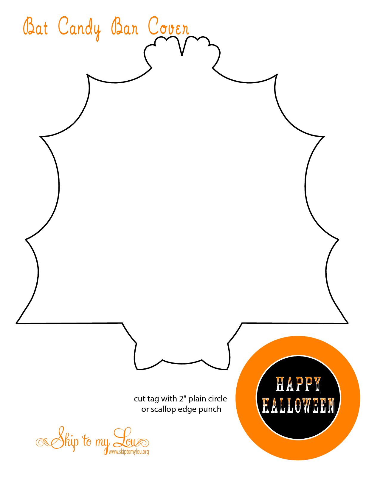 bat candy bar wrapper template ideal vistalist co