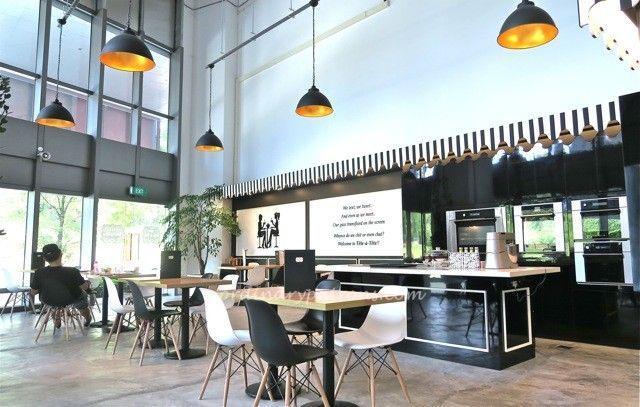 Tete A Tete Cafe A New Restaurant At Biopolis The Ordinary Patrons Cafe Restaurant Home Decor