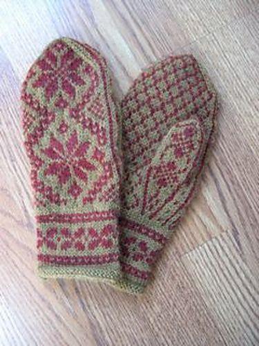 Free pattern - Rigmor's Selbu mittens pattern by Rigmor Duun Grande
