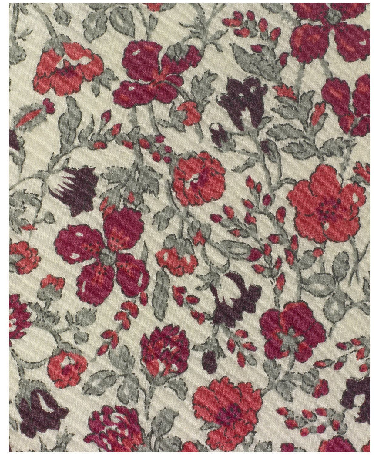 Liberty print Meadow E tana lawn from the Liberty Art Fabrics collection. This is an original 1930's floral design. It was printed as a wood block print at Liberty's Merton printworks. Meadow was revived by Susan Collier in the 1970s and has been on Classic Tana since 1986.