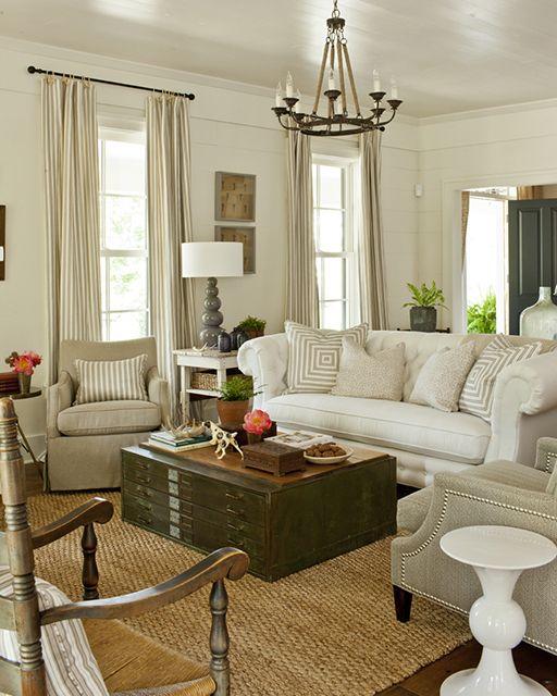 Living Room 02 Farmhouse Revival Plan Sl 1821 Design