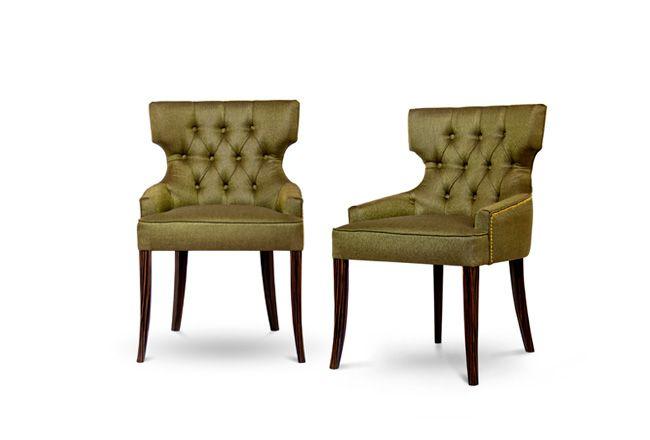 Maori Modern Upholstered Dining Chair By Brabbu Dining Chairs