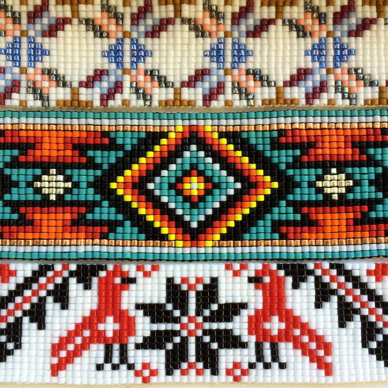 photograph regarding Free Printable Bead Loom Patterns named Printable Indigenous American Beadwork Layouts No cost Indigenous