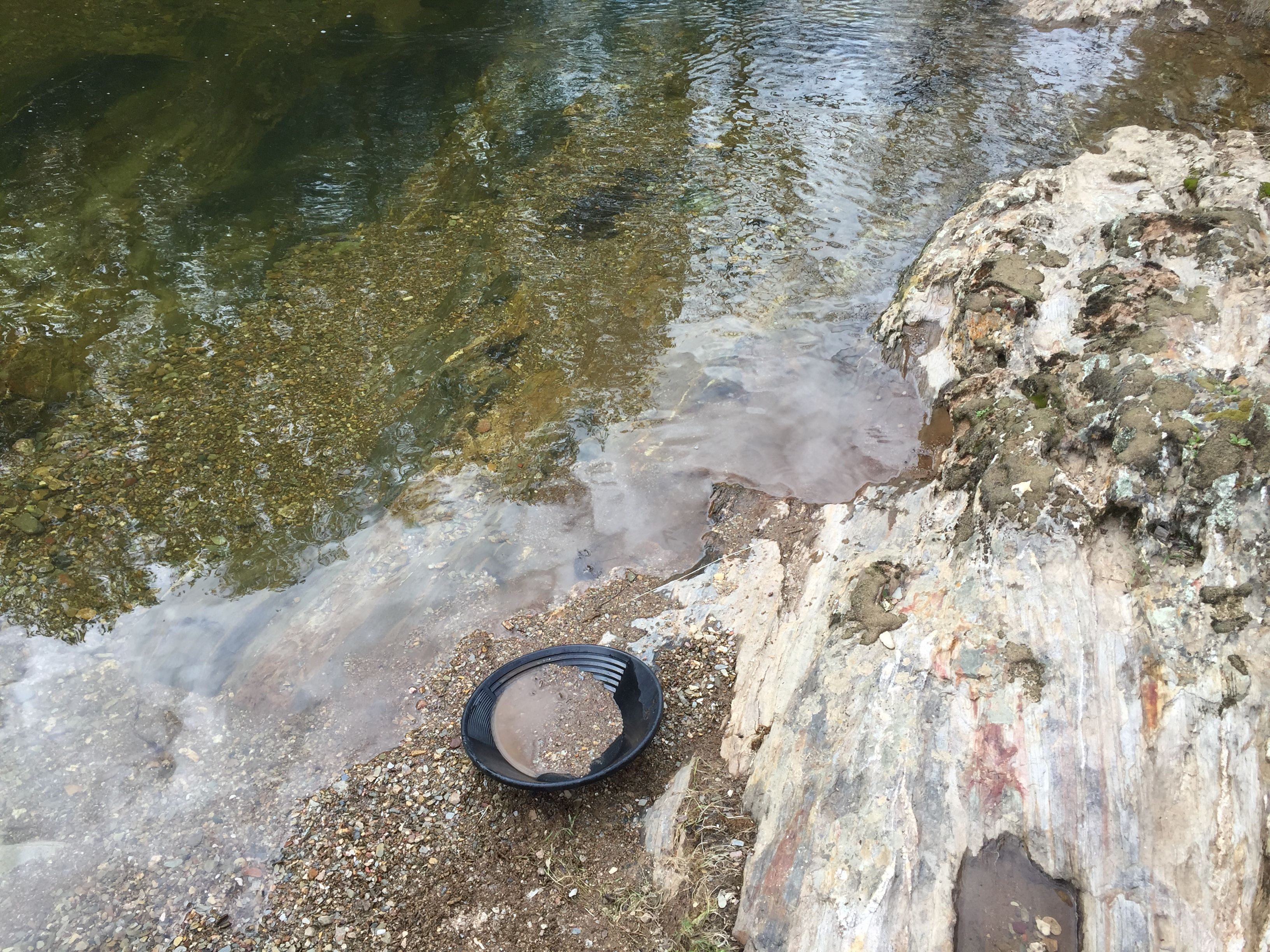 Gold panning californias gold country with images