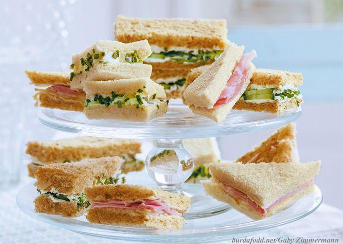 Für den Oster-Brunch: Sandwich-Ecken