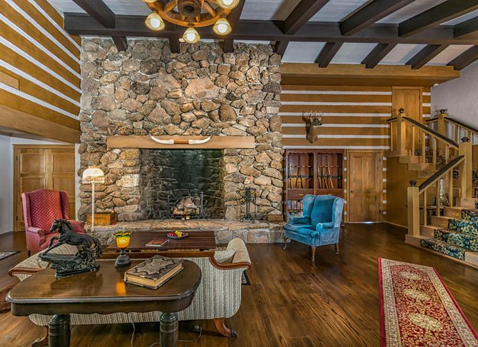 That house, named Ponderosa II by Greene, who died in 1987, is now on the market for $849,900.