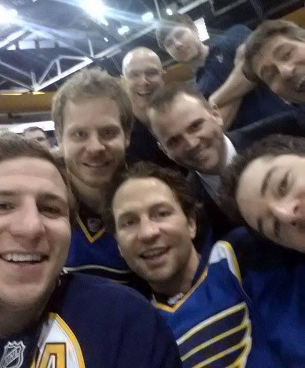 A Selfie St Louis Blues St Louis Blues Hockey St Louis Blues Go Blue
