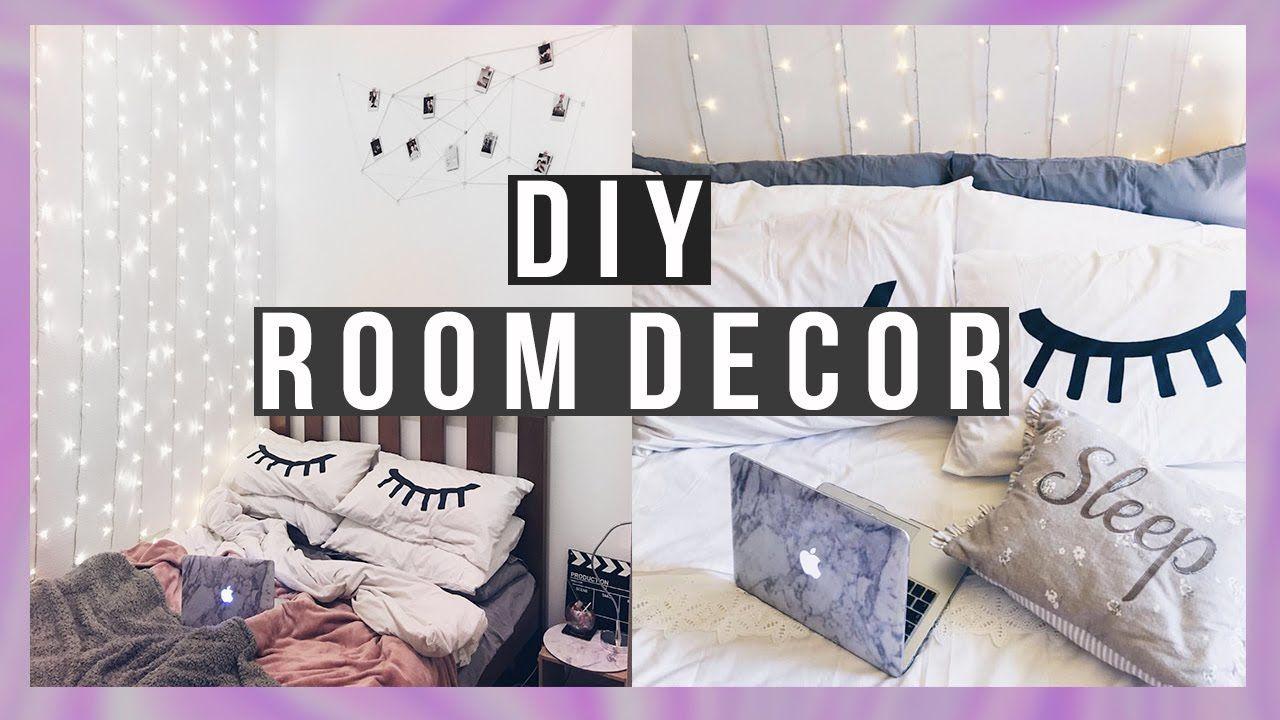 10 Diy Room Decor 2017 Tumblr Inspired Organization Trendy