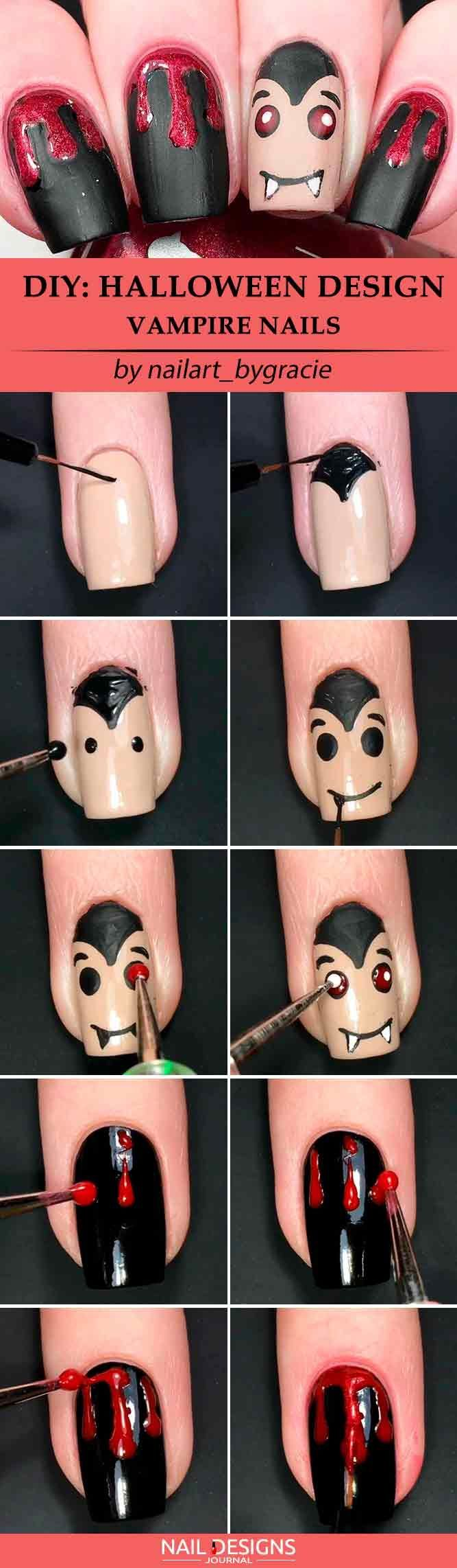 creative but easy halloween nails designs you can copy nails