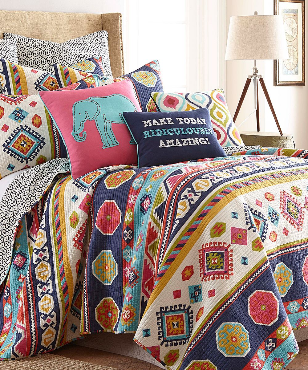 swazi bright quilt set  zulily  room decorations  pinterest  - swazi bright quilt set  zulily