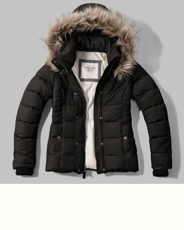 A F Hooded Puffer Jacket Women Outerwear Jacket Bomber Jacket Women Outerwear Women [ 1500 x 1200 Pixel ]