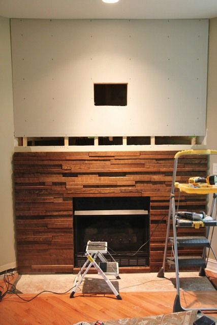 for those corner fireplaces review the before and after awesome rh pinterest com