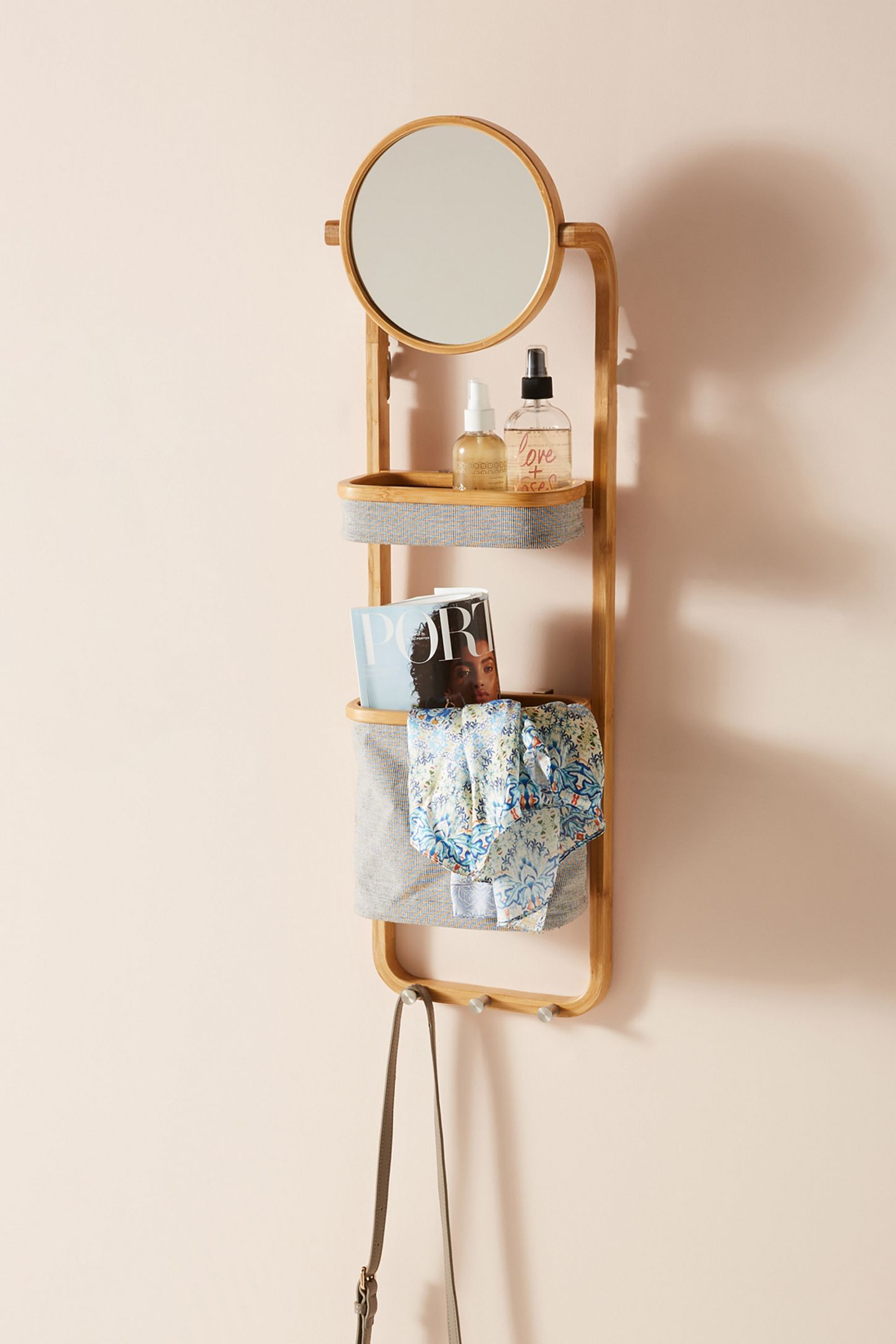 Vanity Storage Wall Shelf Vanity Storage Apartment Storage Diy Shelves