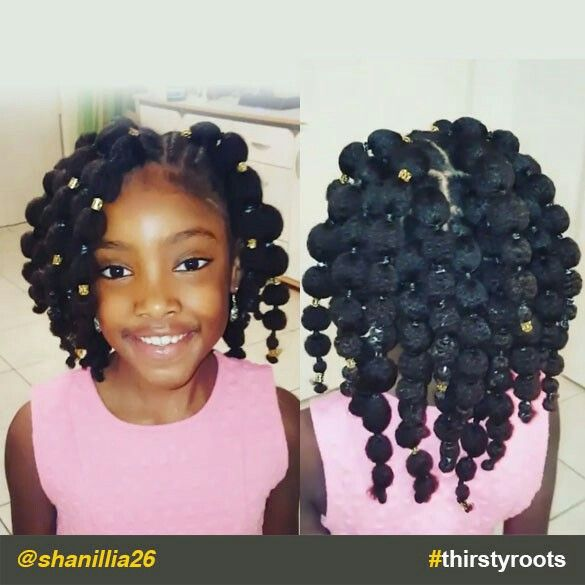 Coiffure Petite Fille Afro Mariage Le7emecontinent