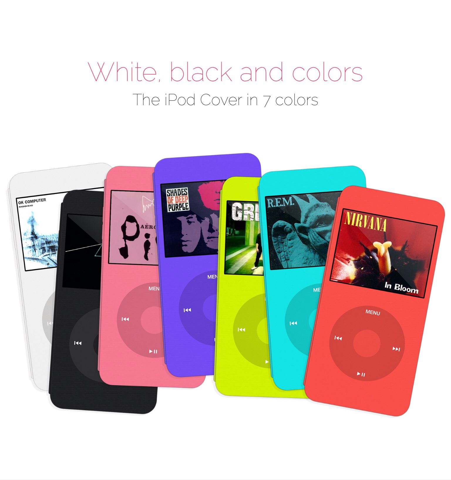 iPod Cover. Let's bring back the iPod to the iphone 6+