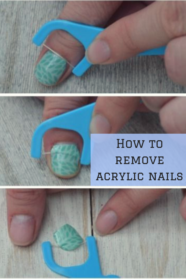 How To Remove Acrylic Nails At Home : Ultimate Guide