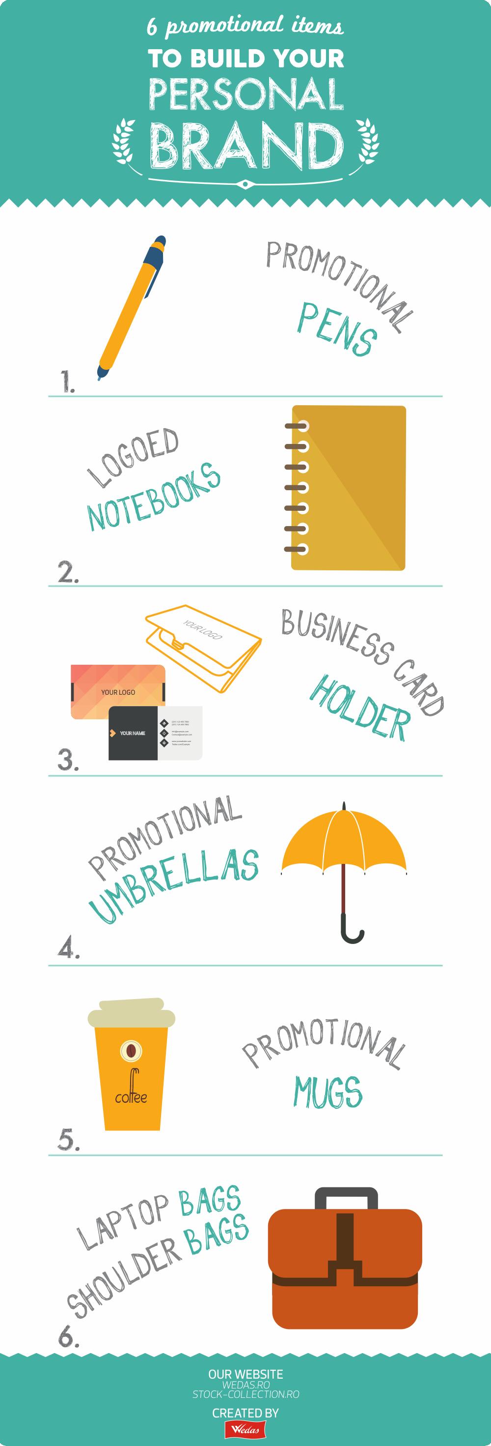 Construirea brandului personal cu ajutorul produselor promotionale: http://www.wedas.ro/materiale-promotionale/blog/construirea-brandului-personal-cu-ajutorul-produselor-promotionale