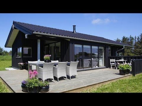 84m2 Super Lovely Cottage With Spacious Bedrooms And Large Living Room For Construction Youtube Beautiful Small Homes Tiny House Big Living Large Living Room