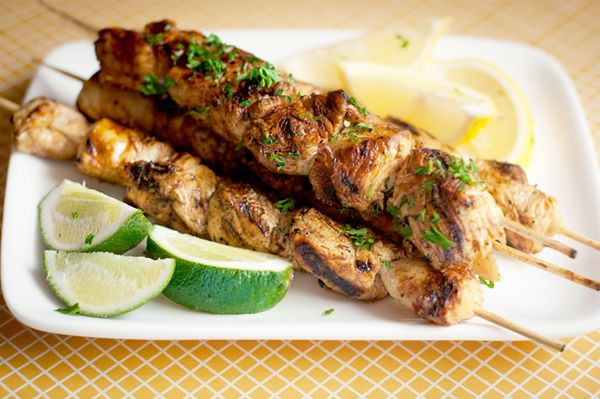 Chicken Kabobs Recipes | Honey chipotle and lime grilled chicken kabobs recipe