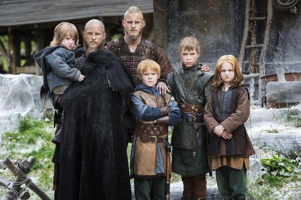 The early years - Ragnar's marriage 1.0 son and marriage 2.0 sons