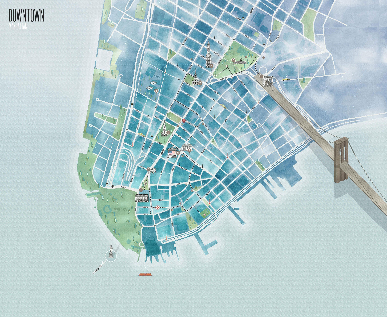 urban walks of NY app urban walks of NY