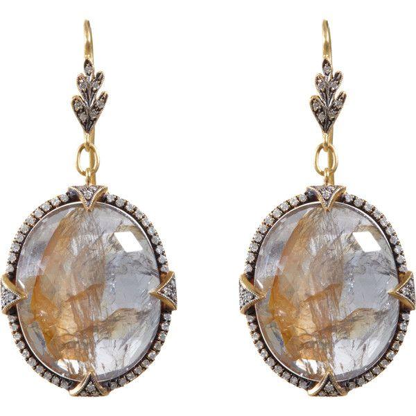 Cathy Waterman Sapphire Leaf Top Earrings ($19,720) `