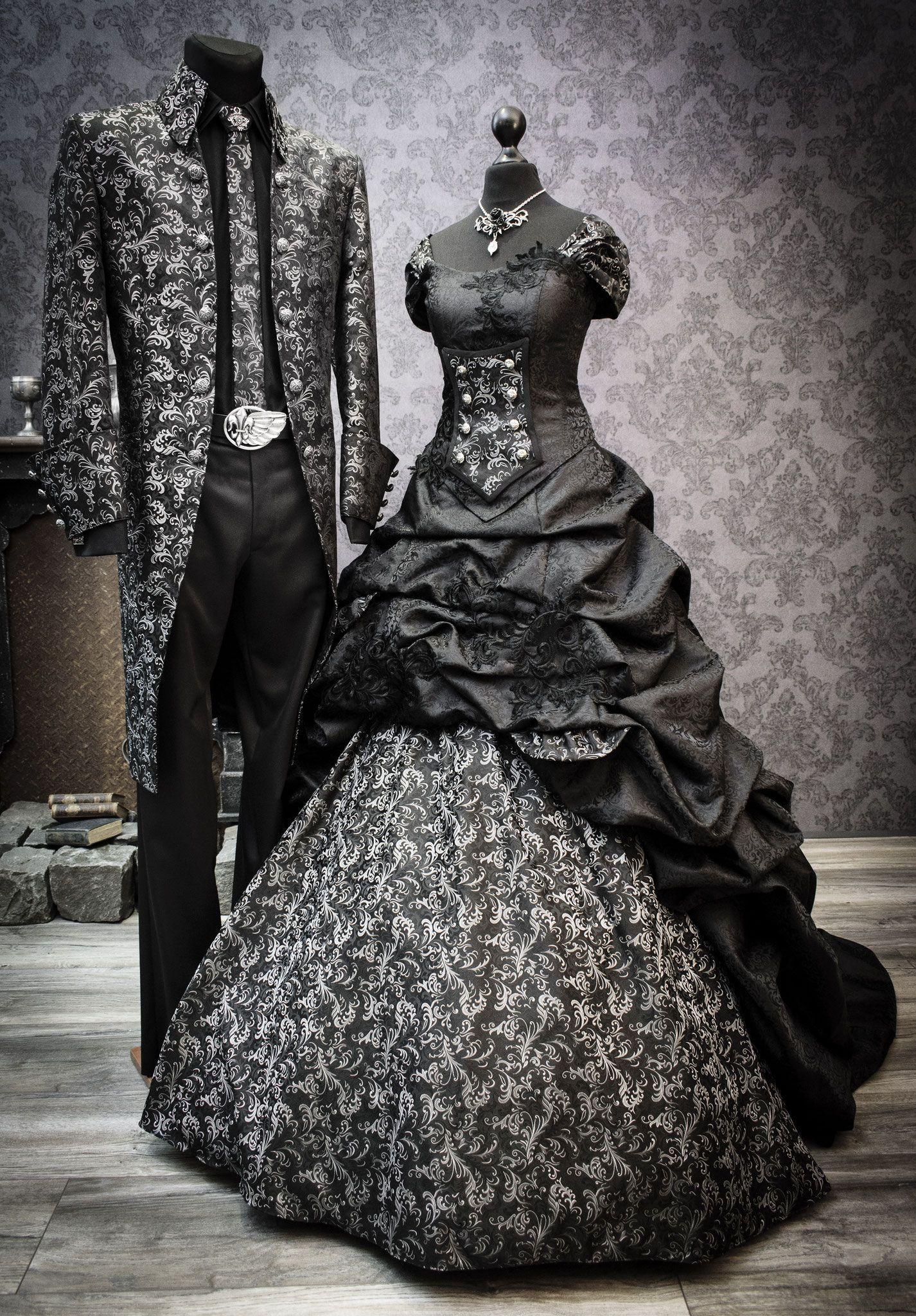 Schwarzes Brautkleid in 20  Schwarzes brautkleid, Brautmode