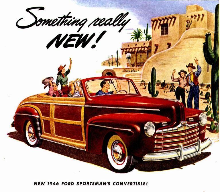 Vehicle · 1946 Ford Sportsman