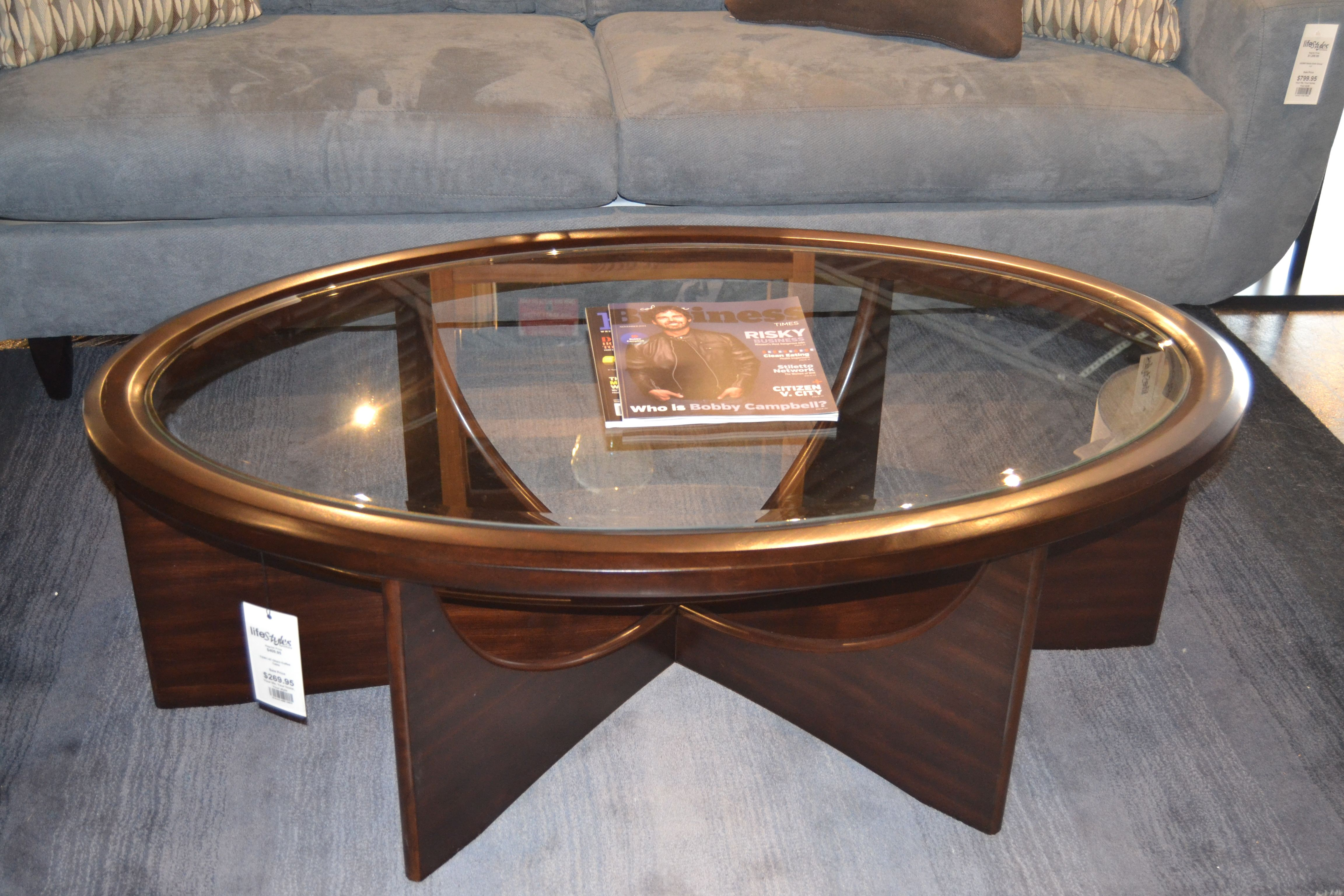 Introducing the Okani Coffee Table! www.lifestylescomo.com