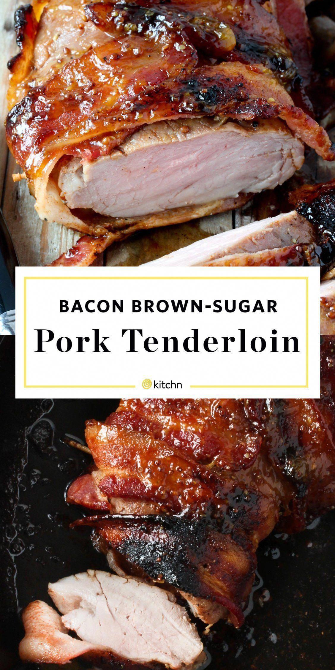 Bacon-Brown Sugar Pork Tenderloin | Recipe | Pork tenderloin recipe brown sugar, Pork tenderloin ...