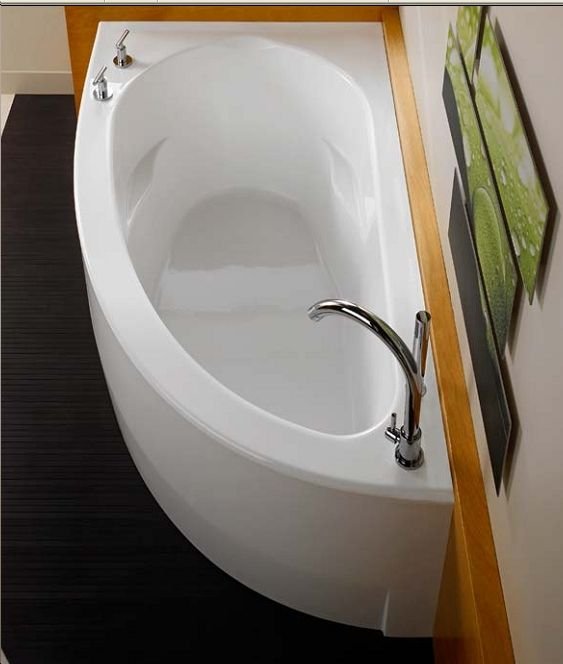 Small Master Bath Neptune Wind Corner Soaker Tub