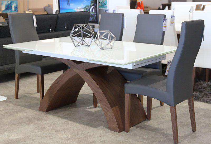 Julianna Dining Table Edmonton Mobler Furniture Table Dining Table Walnut Table