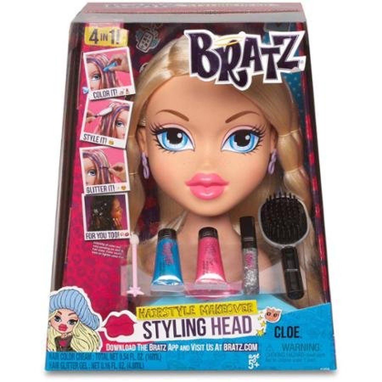 Fashion Dolls Bratz Styling Head Cloe Brought To You By Avarsha Com Bratz Doll Barbie Doll Head Dolls