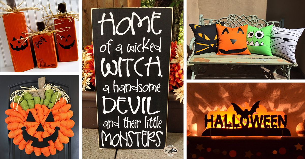 64 Best DIY Halloween Outdoor Decorations for 2018 👻 Holidays - scary halloween outdoor decoration ideas