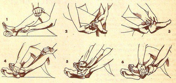 САМОМАССАЖ ДЛЯ АКТИВАЦИИ КРОВОТОКА В НОГАХ. Предлагаемый самомассаж активизирует кровоток в пальцах, ступнях, в коленных, голеностопных суставах ног и мышцах поясничного отдела. Это эффективный метод профилактики варикозного расширения вен,…