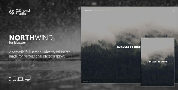 cool NorthWind: A Versatile Complete-Screen Slider Theme for Photographers (Blogger) http://www.expertapplication.com/