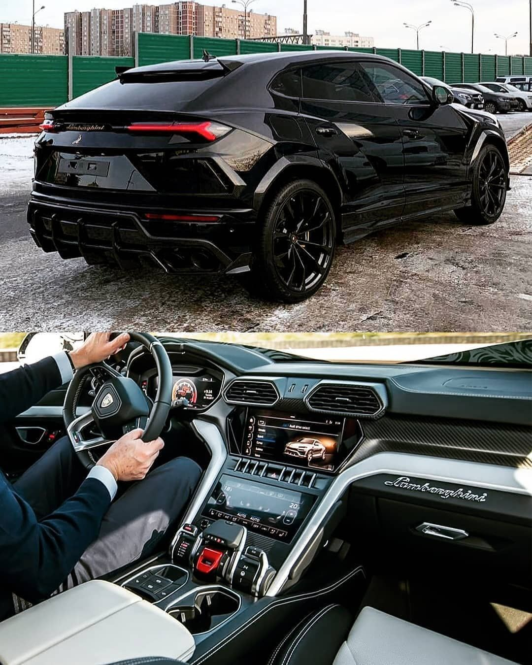 "BLACK EDITION on Instagram: ""♠️ Lamborghini Urus 😍 What do you think of this design and interior? ◾ RATE : 0-10 ◾ Subscribe/Подпишись ◾ @black__edition_"""