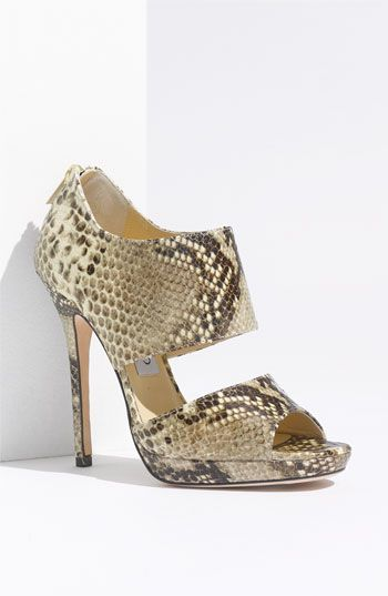 441f7df0071 Real  Jimmy Choo  Private Cuff  in Snake Print