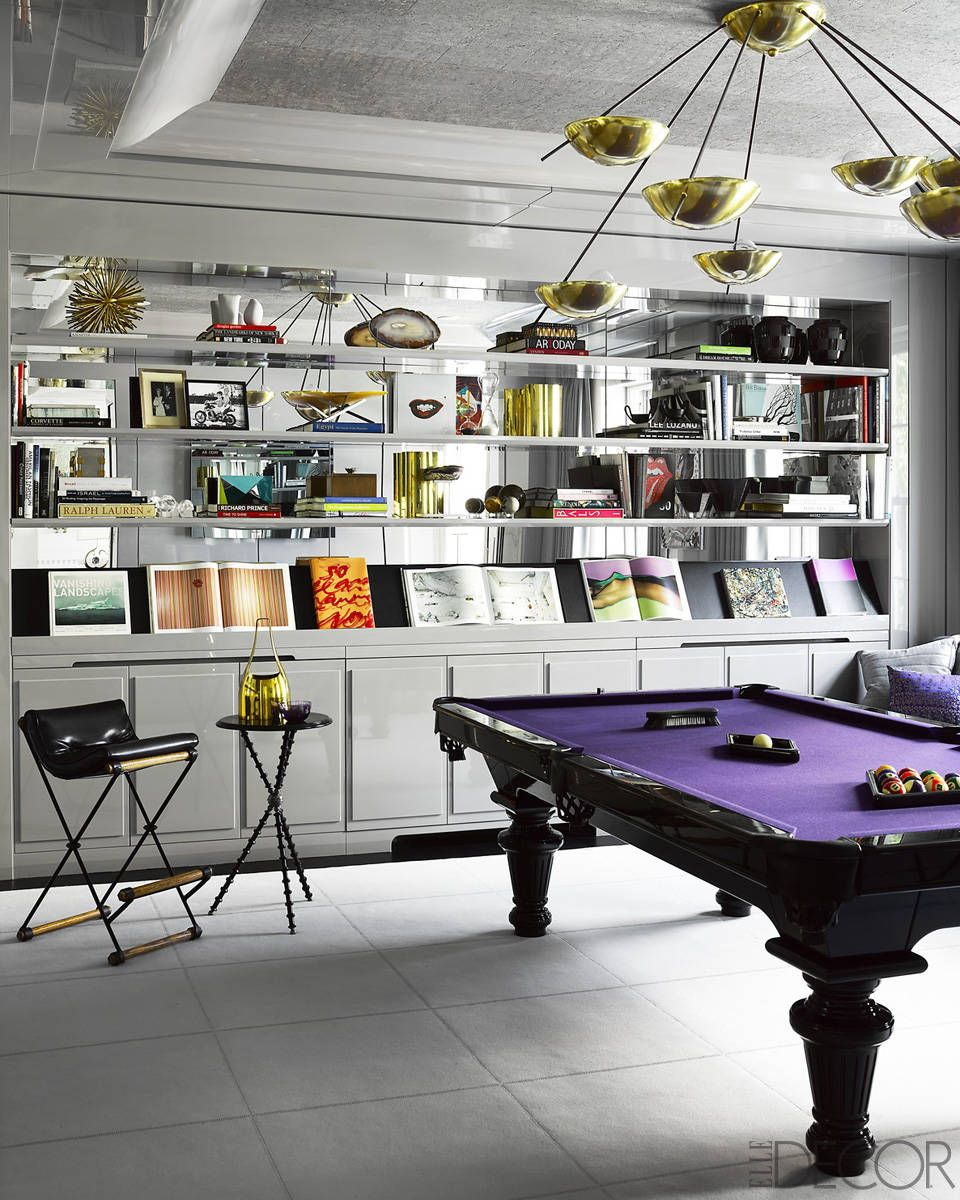 1000 images about billiard s rooms on pinterest billiard room - Interiors An Ultra Glamorous Townhouse By James Aman Pool Tablespool Table Gameselle Decorgame
