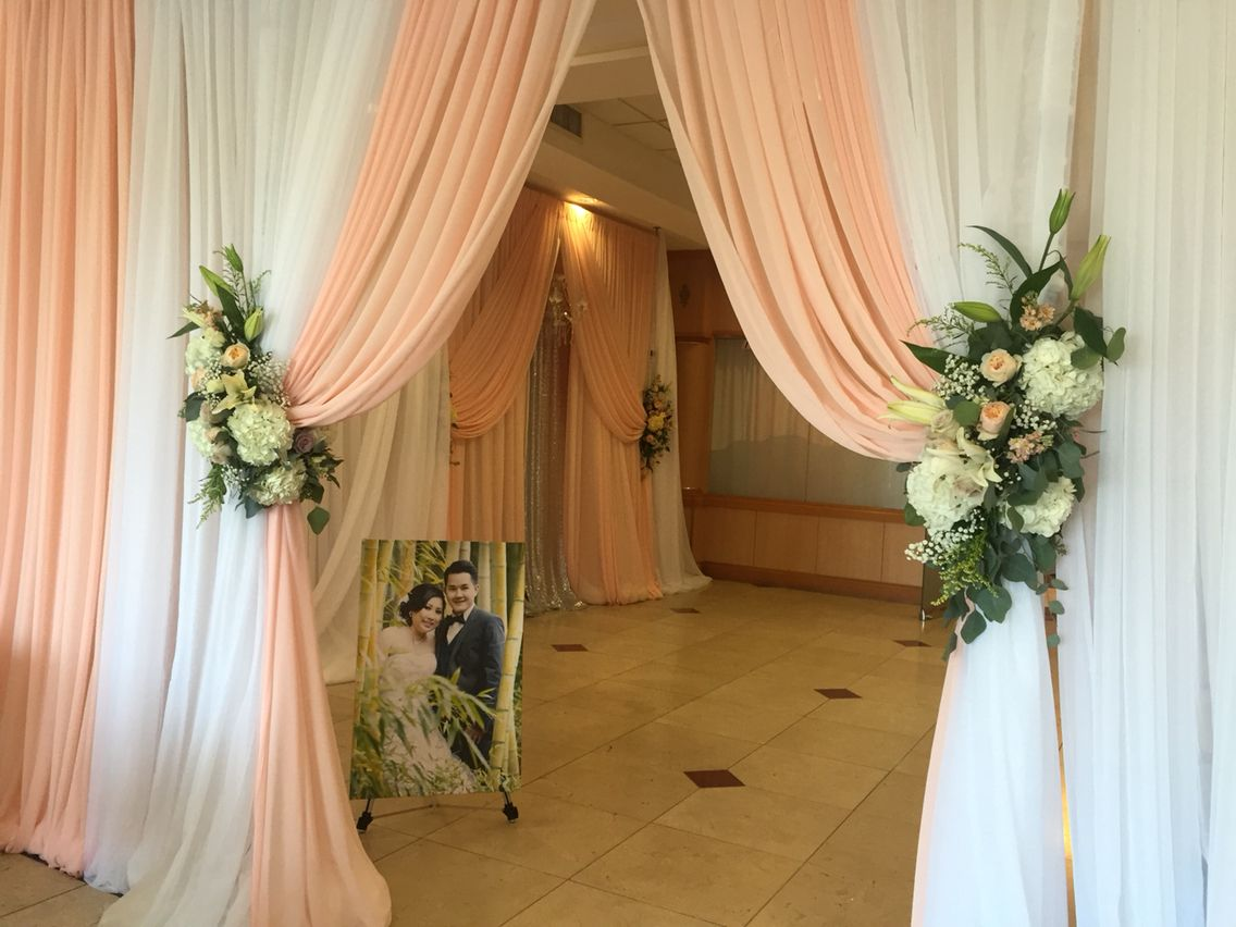 Wedding reception entrance decor - Wedding Reception Entrance