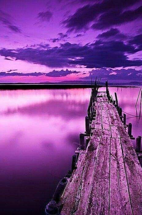 أجمل هندسة في الحياة هي بناء جسر من الامل فوق بحر من الألم Purple Sky Purple Sunset Purple Aesthetic