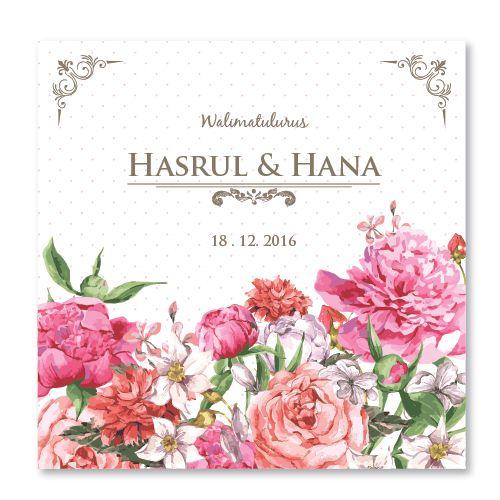 Kad Kahwin Floral 45 Chantiqs Kad Kahwin Kad Kahwin Kad Kahwin Design Wedding Cards
