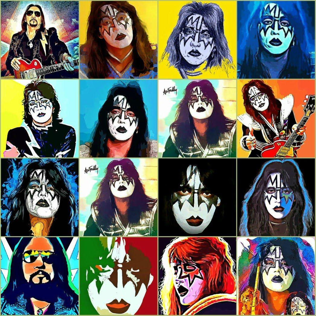 Ace Man Of 1000 Faces Ace Frehley Kiss World Kiss Art