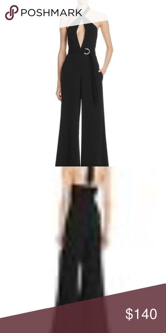 d0dc10ae151 Jill Jill Stuart Halter Keyhole Jumpsuit NEW! Designed for a contemporary  fit Crisscross halter neckline