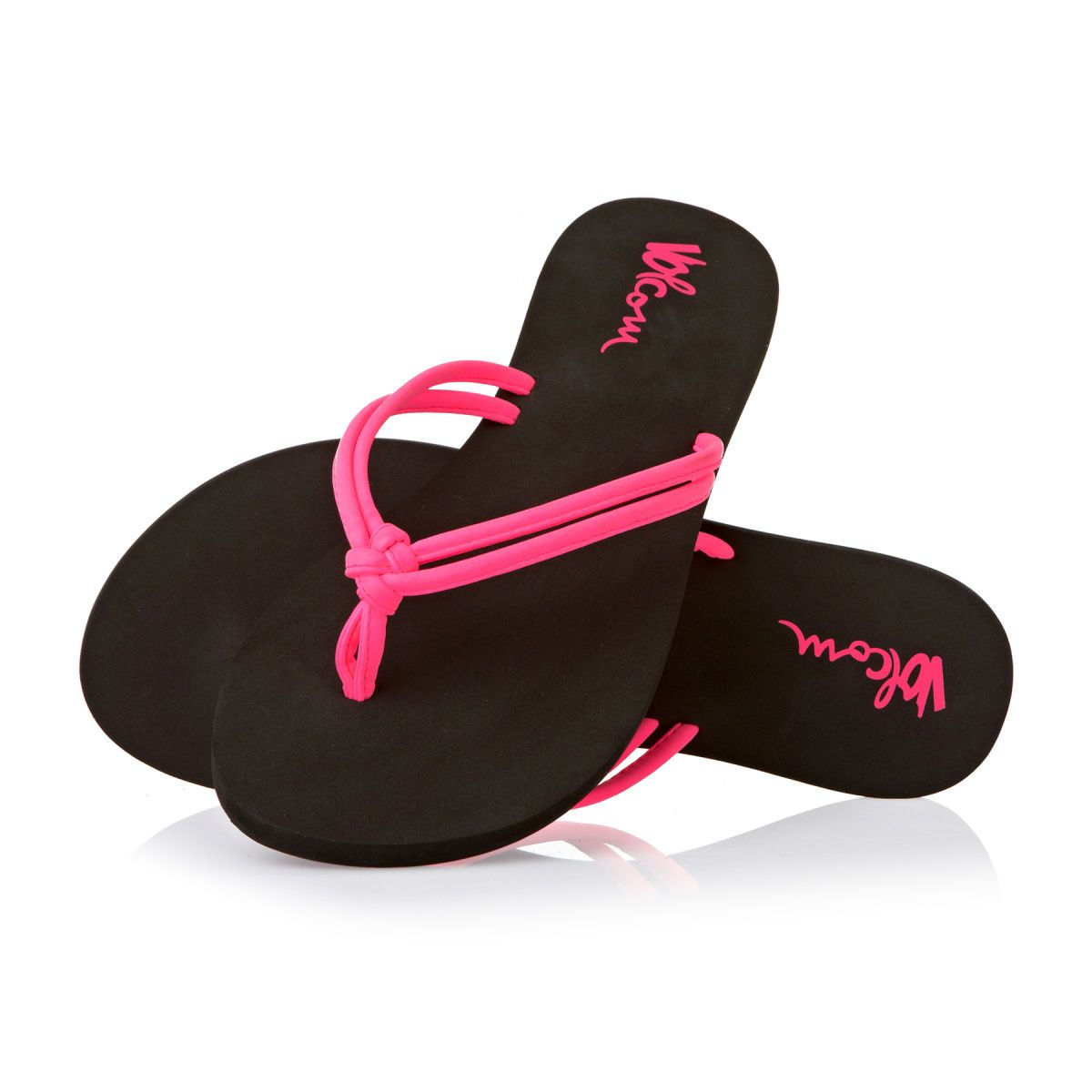 Volcom Forever And Ever Flip Flops Neon Pink Volcom Women Flip Flops Neon Pink